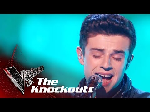 Ross Anderson Performs Torn: The Knockouts  The Voice UK 2018