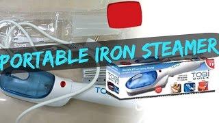 Handheld Iron Steam Review - Tobi Travel Iron