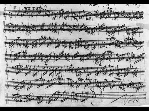 J. S. Bach - Partita in A minor for solo flute BWV1013