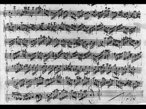 J S Bach  Partita in A minor for solo flute BWV1013