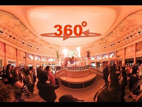 360° / VR Fall of Atlantis Fountain Show at Caesars Forum Shops Las Vegas
