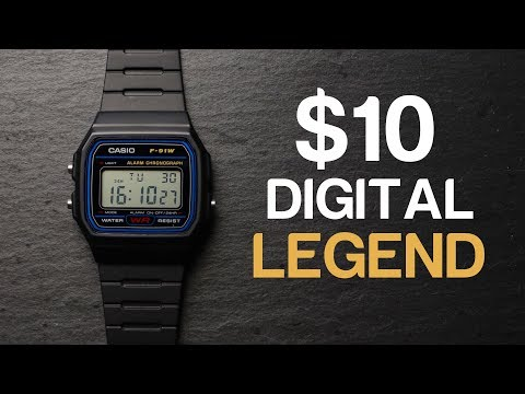 Casio F91W Review | Here's Why It's The World's Most Popular Digital Watch
