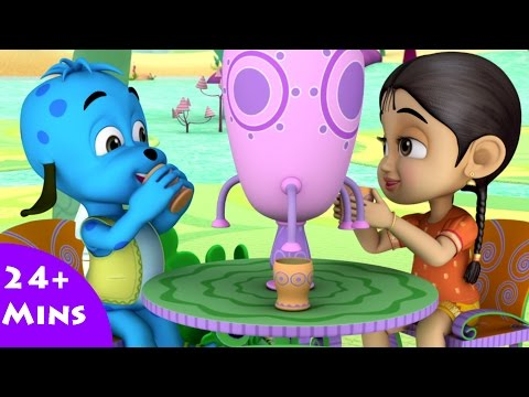 Greetings From Dazzle Land ✿ Bommi & Friends ✿ Chutti TV | Tamil Moral Stories For Kids |3DAnimation