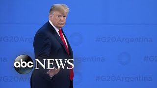 Trump cancels press conference at G20 as Michael Cohen asks for leniency