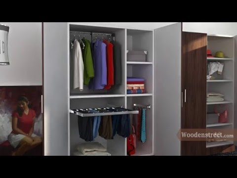 Customized Wooden & Modular Wardrobes : A Perfect home for your clothes !