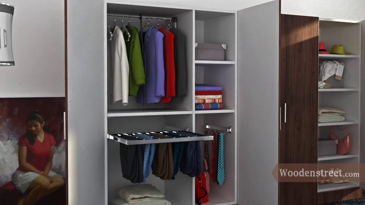 Customized wooden modular wardrobes a perfect home for