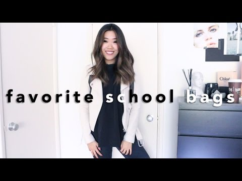 My Top 5 Everyday School Bags
