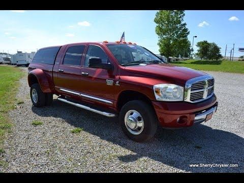 2007 Dodge Ram 3500 Laramie Mega Cab For Sale Dealer Dayton Troy Piqua Sidney Ohio | CP13876T