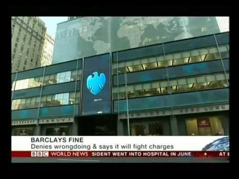 Barclays faces $453-million fine over U.S. price rigging