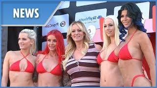 Stormy Daniels opens erotic fair in Berlin (Venus Festival)