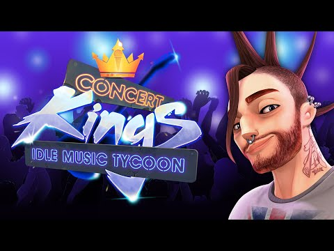 Concert Kings Idle Music Tycoon (Official Trailer)