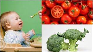 9 Loại rau bổ dưỡng, an toàn cho bé 6 tháng tuổi ăn dặm