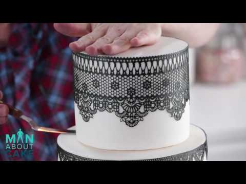 New episode of Man About Cake: Edible Lace