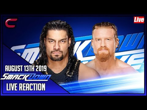 WWE SmackDown August 13th 2019 Live Stream: Live Reaction Conman167