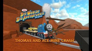 Thomas and Ace Runaway Crash! Big World Big Adventures | Roblox Remake