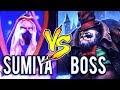 SumiYa God Invoker vs Legendary Pudge Boss 7.07 Intense Game Dota 2