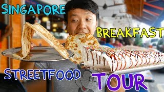 MIND BLOWING Singapore BREAKFAST Street Food Tour! thumbnail
