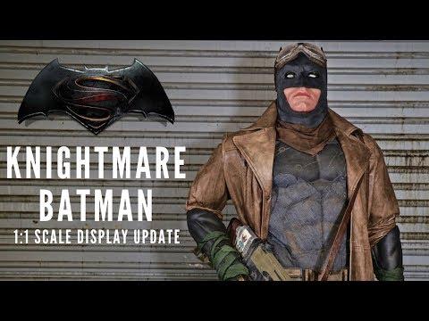 1:1 Scale Knightmare Batman Display Update!