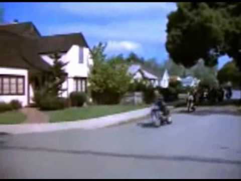 Hells Angels visit Mountain View in 1969