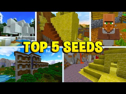 TOP 5 SEEDS For MINECRAFT 1.12.2!