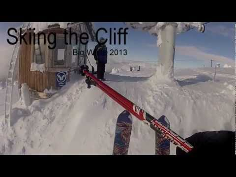 Skiing the Cliff (Big White)
