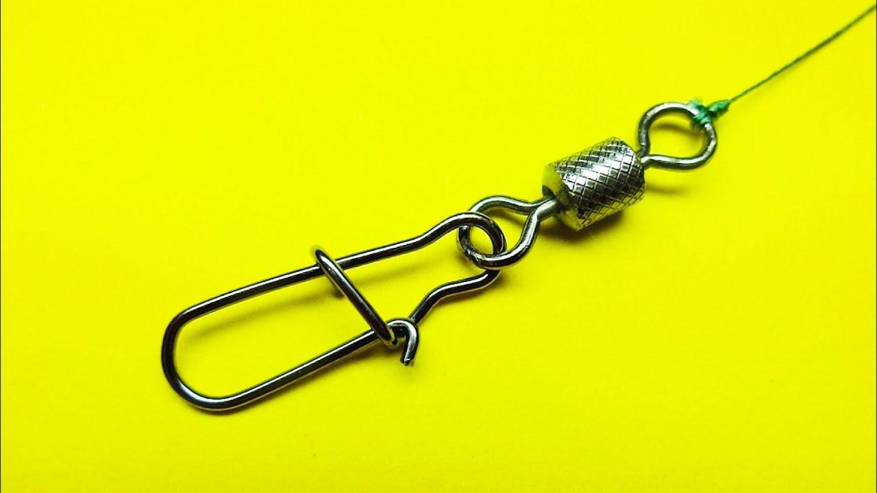 Топ 5 как привязать вертлюжок к леске | лайфхаки для рыбалки | рыболовные узлы для рыбалки | рыбалка