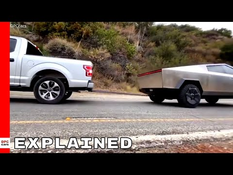Tesla Cybertruck vs Ford F 150 Tug Of War Explained