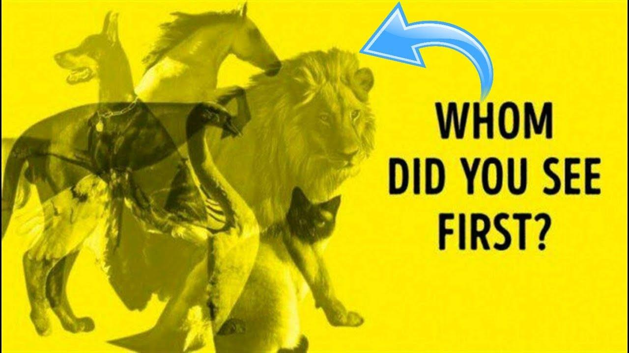 اولین حیوانی که در تصویر میبینید چیست ؟ Carl Jung