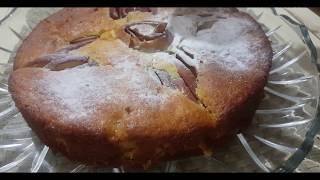 яблочный пирог. очень просто и вкусно. Осон олмали пирог.
