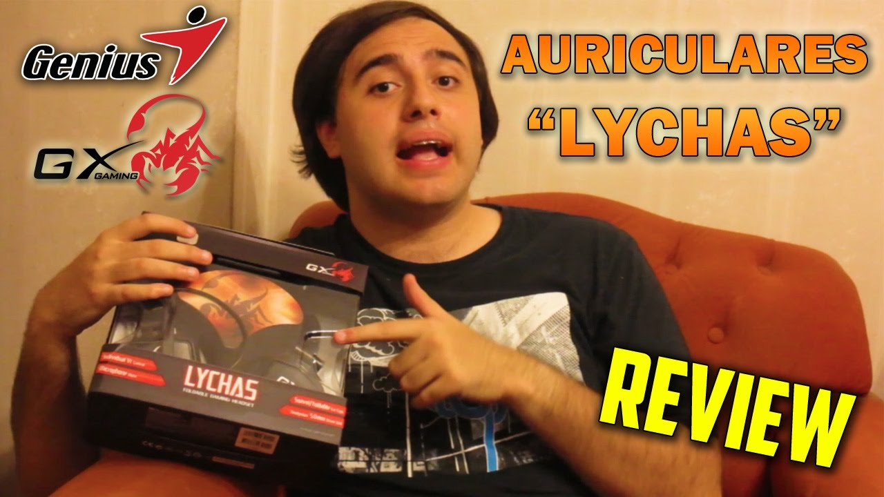 "[REVIEW] ""Auriculares Genius GX Gaming LYCHAS"" Video Gaming"