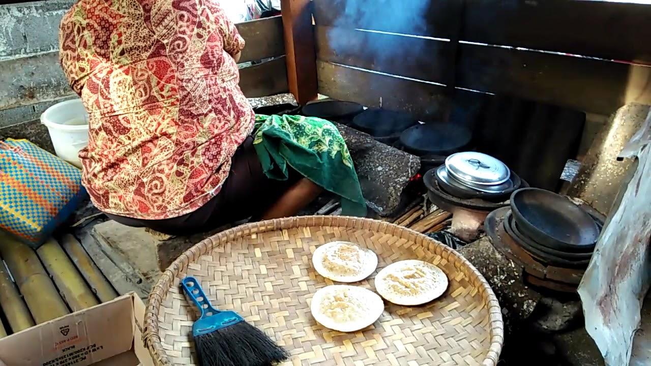 Tutorial Cara Membuat Serabi Makanan Khas Jawa Tengah Youtube