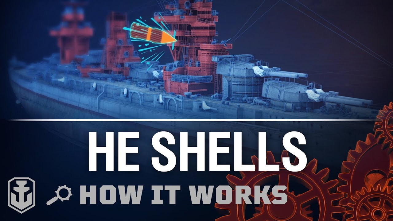 How it Works: HE Shells | World of Warships