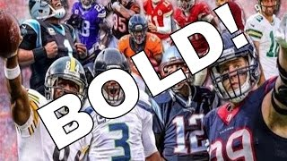 Top 10 BOLD Predictions for the 2016-17 NFL Season - Broncos MISS Playoffs, and More!