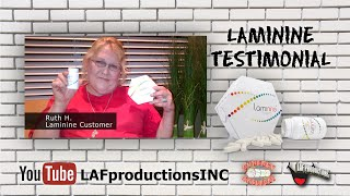 Laminine Testimonial - Ruth H. Thumbnail