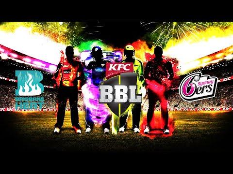 BBL 2020 - S1 - Brisbane Heat vs Sydney Sixers - YouTube
