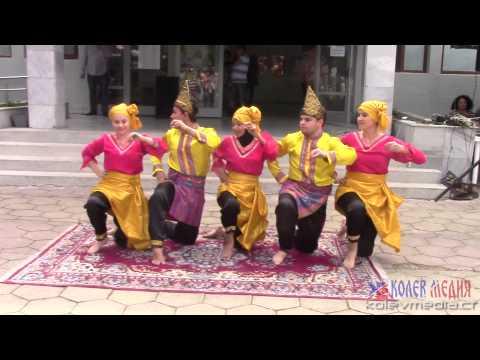 Indoseian dance from East Sumatra - DIN DIN BADINDIN in Targovishte, Bulgaria