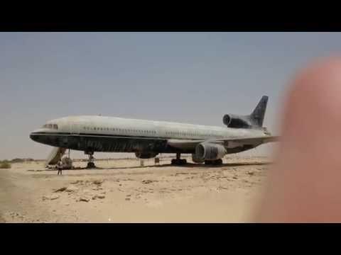 Mi viaje a Abu Dhabi (EUA) un McDonnell Douglas DC-10 en Emirates National Auto Museum