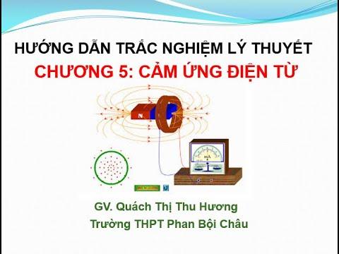 Hướng dẫn Trắc nghiệm lý thuyết chương 5: Cảm ứng điện từ - Vật lý 11
