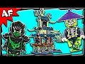 """Lego Ninjago CITY of STIIX 70732 Ghost Army Stop Motion Build Review: ► Get limited Custom Lego sets at http://www.brickwow.com ► Get this Lego set at http://amzn.to/2j7vovm ► Watch our Lego videos on Amazon http://amzn.to/2i0KwZC ► Build this in ArtiFex Interactive Lego APP @ http://apple.co/1Jbnpmt  Ninjago Custom MECHS & GO-Karts @ http://bit.ly/17ytQmx Ninjago Set REVIEWS @ http://bit.ly/14GzOuK Ninjago Brick FILMS @ http://bit.ly/18LvtJg   Seek out the Scroll of Airjitzu in the City of Stiix! Team up with the Ninja as they battle to enter the spooky City of Stiix!  SET DETAILS • 1069 pcs - $119.99 / £89.99 • Ages 8-14 - released June 2015  • 8 minifigures - Kai, Jay, Nya, Evil Green Ninja, Chain Master Wrayth, Scythe Master Ghoultar, Ghost Warrior Cyrus and Ghost Ninja Ming.  • Also includes a Skreemer (attachable to minifigures) with a sausage • Weapons - 2 Golden Katanas and 2 Deepstone Katanas (for Jay and Nya), Kai's Deepstone Scythe, Nya's crowbar,Evil Green Ninja's Sword of Sanctuary, Wrayth's Ghost Master Blade on a chain, Ghoultar's Scythe Ghost Master Blade, Cyrus' crossbow and Ming's Ghost Energy Blade • Accessories - Deepstone armor for Kai and Jay and Nya's wrench • Temple features a docking station, adjustable crane with opening Ninja prison cage, secret opening mountain-wall entrance, hidden skeleton, shop with Aeroblade, assorted weapons, secret book and crystal elements, guard room with trapdoor, plus table, chair, cup, bottle and the Scroll of Airjitzu elements, rotating rooftop ghost bomb shooter and translucent green spiders • Temple measures over 16"""" (42cm) high, 10"""" (26cm) wide and 4"""" (11cm) deep • Ghost ship features a large movable fabric sail, 4 stud shooters, barrel of tools and a Ninja prison • Ghost ship measures over 9"""" (25cm) high, 12"""" (31cm) long and 4"""" (11cm) wide • Outpost features awindmill with rotating axe blades, adjustable ladder and treasure chest, walkway and a rotating ghost bomb cannon • Outpost measures over 10"""" (26cm) """