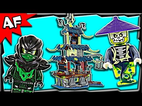 Lego Ninjago CITY of STIIX 70732 Ghost Army Stop Motion Build Review