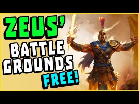 NEW FREE Ancient Greek Battle Royale Game - Zeus' Battlegrounds Gameplay