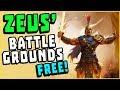 NEW FREE Ancient Greek Battle Royale Game - Zeus' Battlegrounds Gameplay