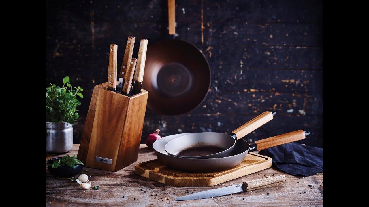 Poêle wok en acier Nomad 20cm | Beka | Acheter sur