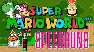 Verified PB of 12:28 | Super Mario World Speedrun Attempts with Ya Boi #Davenotdan