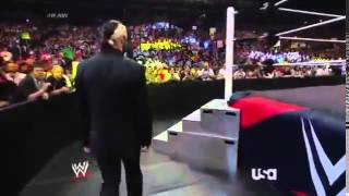 Seth Rollins Entrance with CM Punk