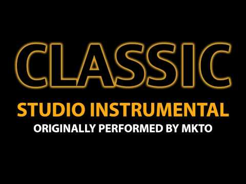 Classic (Cover Instrumental) [In the Style of MKTO]