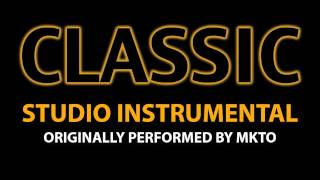 Classic (Cover Instrumental) [In the Style of MKTO] - Stafaband