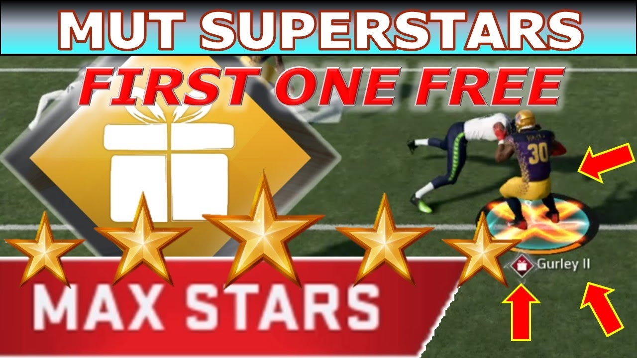 Daily MUT Superstars Challenge First One Free Todd Gurley Madden NFL 20 PC  Earn Max Stars