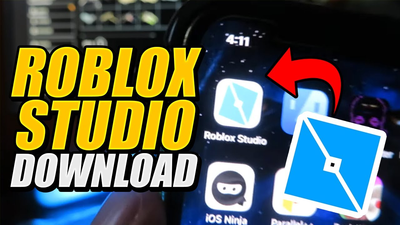 How Do You Download Roblox Studio On Your Phone How To Download Roblox Studio Free Youtube