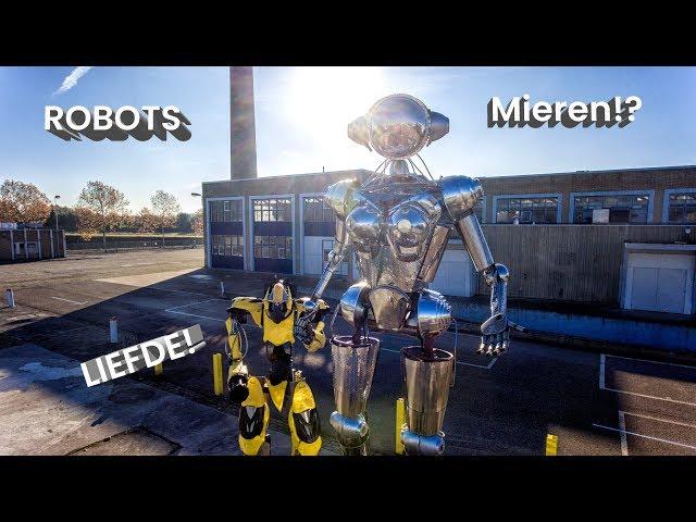 ROBOTS? MACHINES? MIEREN en LIEFDE!? Mierenboerderij
